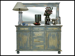 Daffodil Sideboard & Mirror (with mirror)