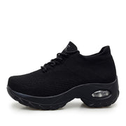 all black sneakers womens