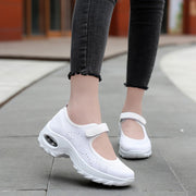 Women's All Black or All White Breathable Comfortable Hollow Shoes