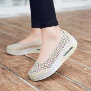 Women's colorful breathable pretty wakling leisure loafers