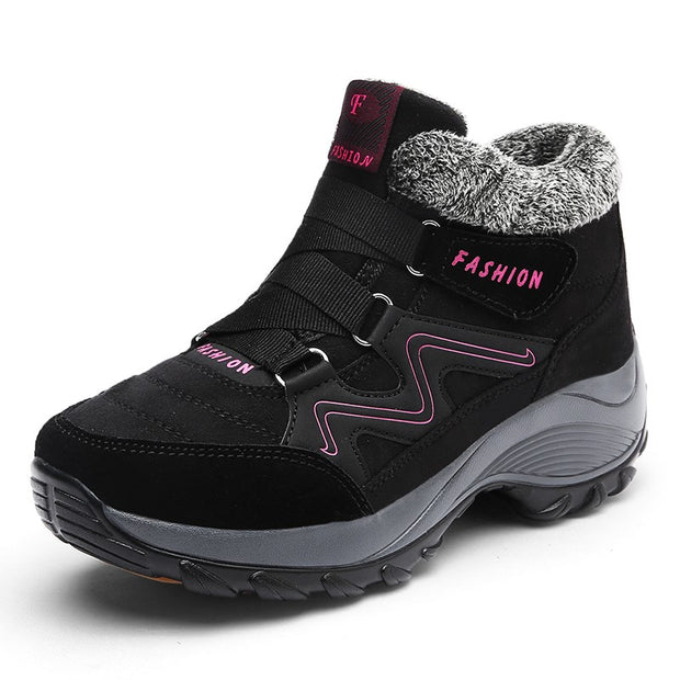 Women's winter villi thermal comfortable high top boots