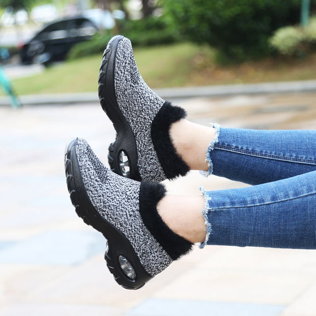 Women's New style Warm fashion sneakers for autumn and winter