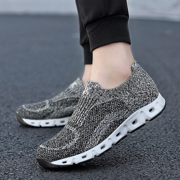Women's cushion mesh fabric breathable comfortable sneakers