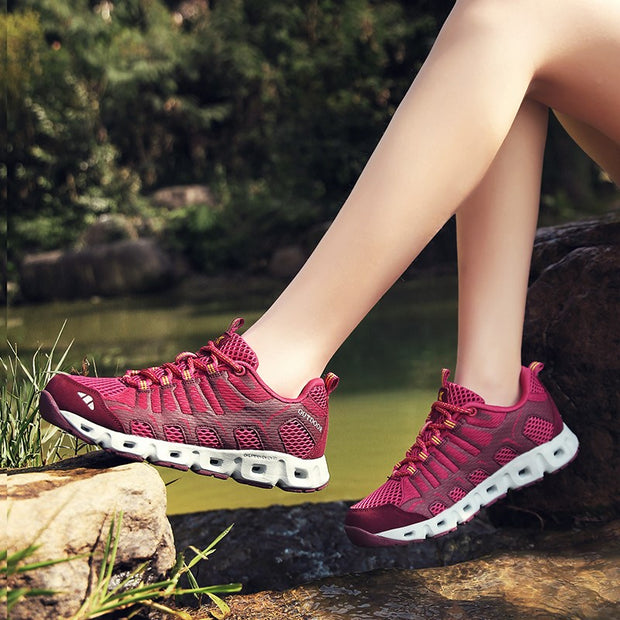 Women's platform cushion anti-skid breathable sneakers