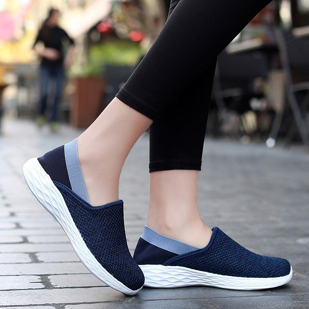 slip on running shoes