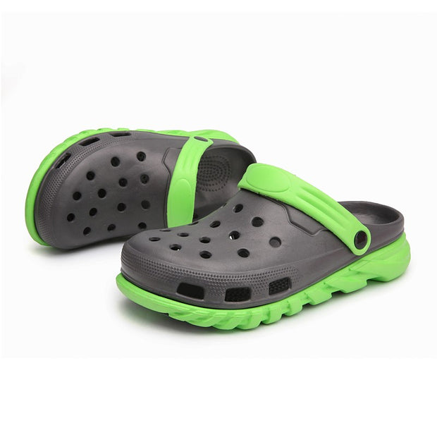 Man's fashion cool breathable leisure beech sandals slippers