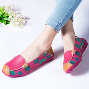 Women's elastic comfortable flat slip-on leisure loafers