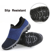 Man's summer spring breathable slip resistant portable lightweight flat tennis sneakers