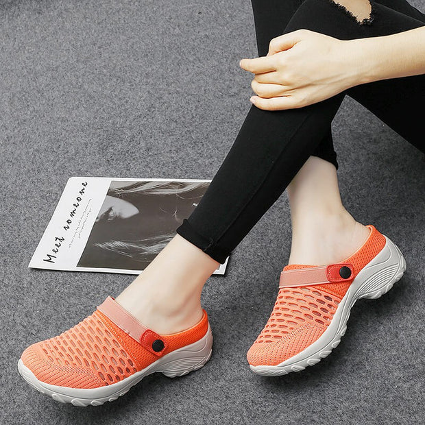 Women's summertime comfortable slip-resistant breathable casual shoes
