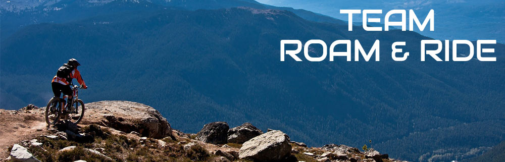Team Roam and Ride Banner