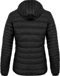 Wind Packed - Ladies hooded light down Jacket