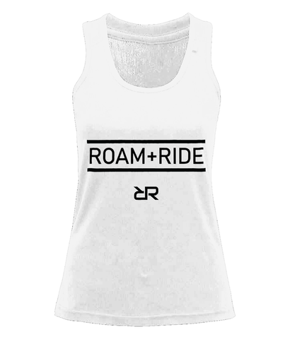Power Bar (White) Women's Fitness Vest
