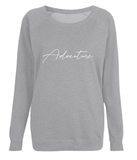 Adventure - Women's Raglan Sweatshirt (Organic)
