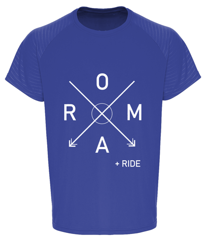 Roam - TriDri® Embossed Sleeve T-Shirt