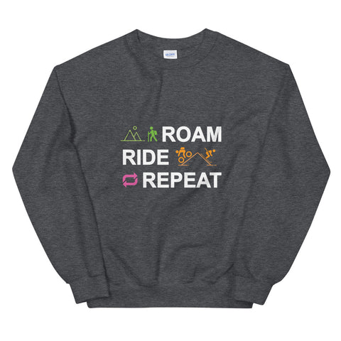 Roam Ride Repeat - Unisex Sweatshirt