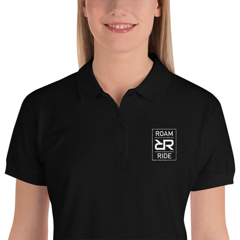 Intimidation - Embroidered Women's Polo Shirt