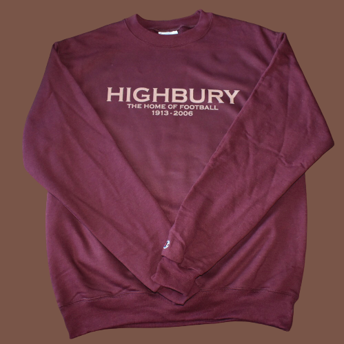 ARSENAL HIGHBURY BERGKAMP CREWNECK