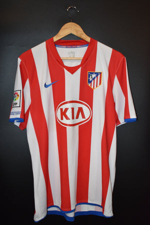 ATLETICO MADRID 2008-2009 ORIGINAL JERSEY Size L ( VERY GOOD)