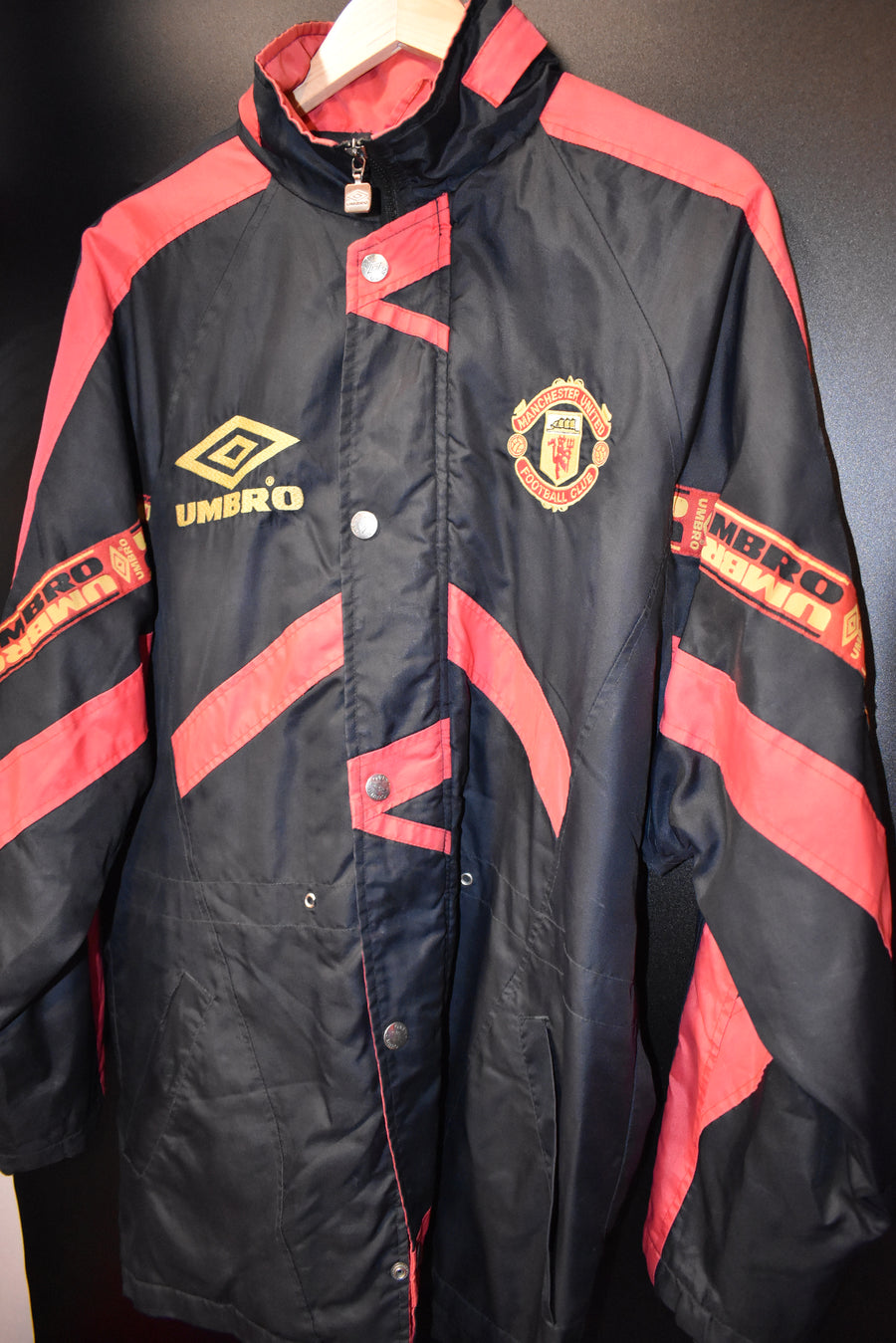 MANCHESTER UNITED 1994-1995 ORIGINAL JACKET Size L (EXCELLENT)