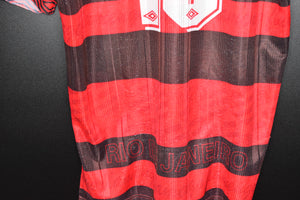 FLAMENGO 1995-1996 SAVIO ORIGINAL JERSEY SIZE M (VERY GOOD)