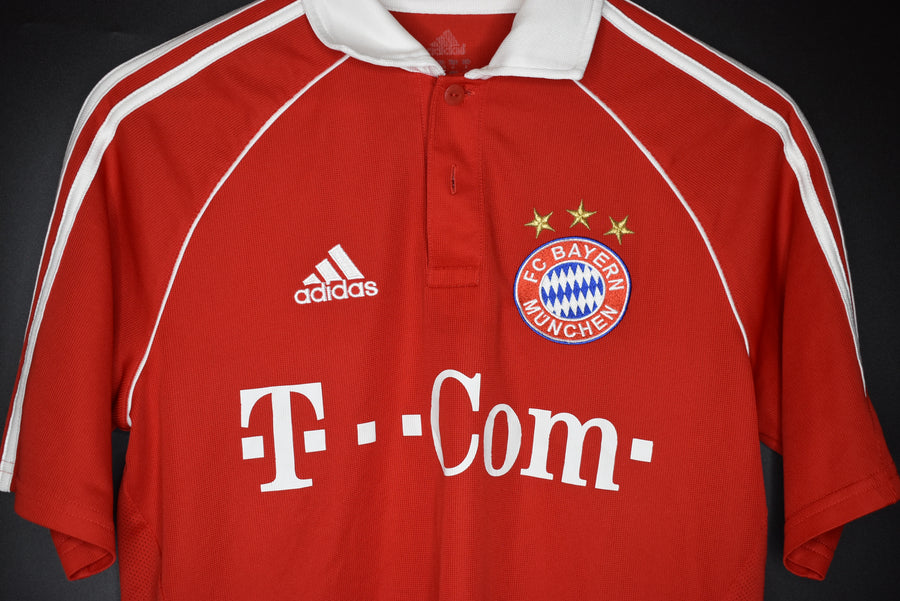 BAYERN MUNICH 2006-2007 ORIGINAL HOME JERSEY Size S (EXCELLENT)