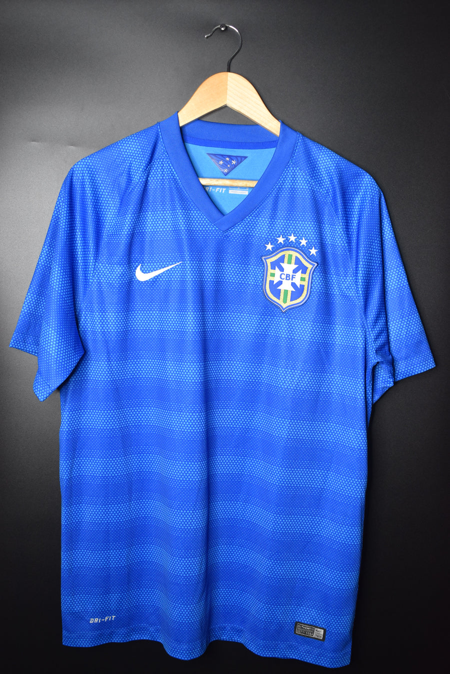 BRAZIL 2015 ORIGINAL AWAY JERSEY Size L (VERY GOOD)