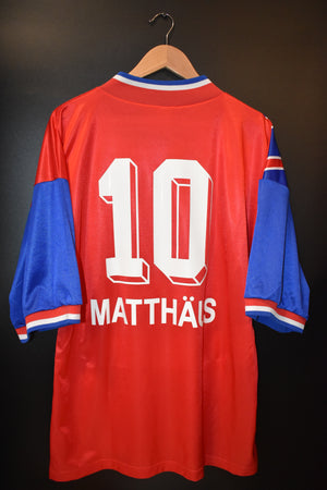 BAYERN MUNICH MATTHAUS 1993-1994 ORIGINAL JERSEY Size XL (VERY GOOD)