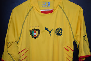 CAMEROON 2004-2005 ORIGINAL JERSEY Size L (VERY GOOD)