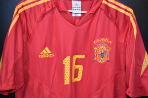 SPAIN 2002-2004 XABI ALONSO ORIGINAL JERSEY Size XL (VERY GOOD)