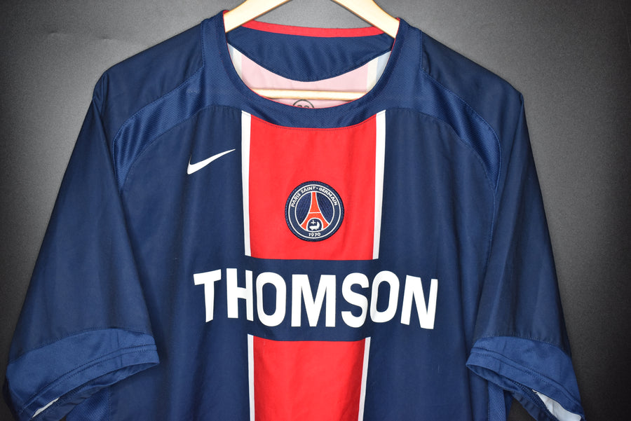 PSG PARIS SAINT GERMAIN 2005-2006 JERSEY Size XL  (EXCELLENT)