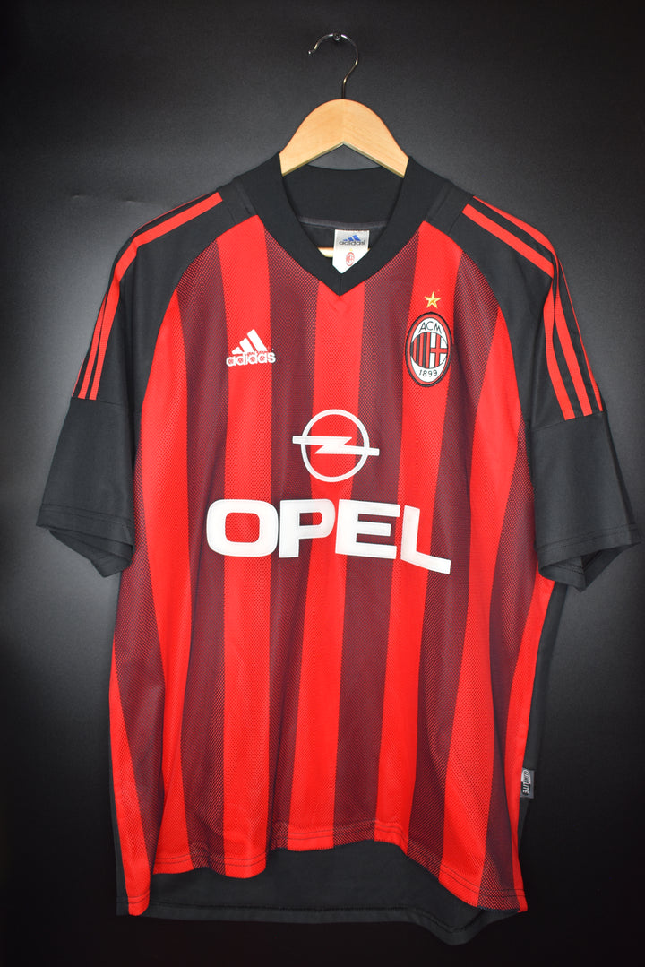 AC MILAN 2002 -2003 SEASON JERSEY Size XL (VERY GOOD)