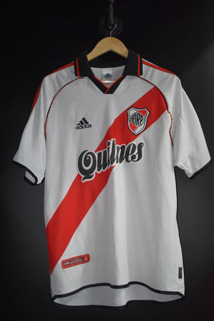 ARGENTINA 2002 WORLD CUP AWAY JERSEY Size L (EXCELLENT)