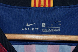 BARCELONA 2004-2005 RONALDINHO OFFICIAL AWAY JERSEY SIZE XL (VERY GOOD)