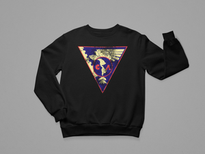 CLUB AMERICA VINTAGE BADGE CREWNECK