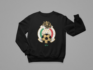 MEXICO 86 VINTAGE BADGE CREWNECK