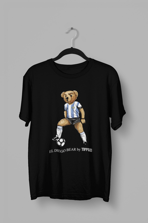 EL DIEGO MARADONA BEAR BY TIFFOZI