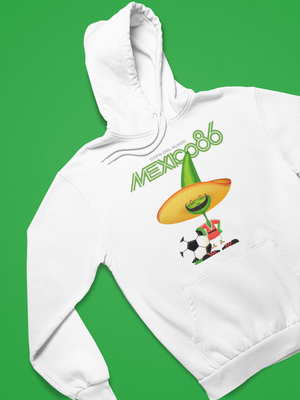 MEXICO 1986 World Cup PIQUE HOODIE