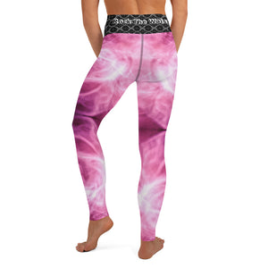 The Pink Swirl Leggings