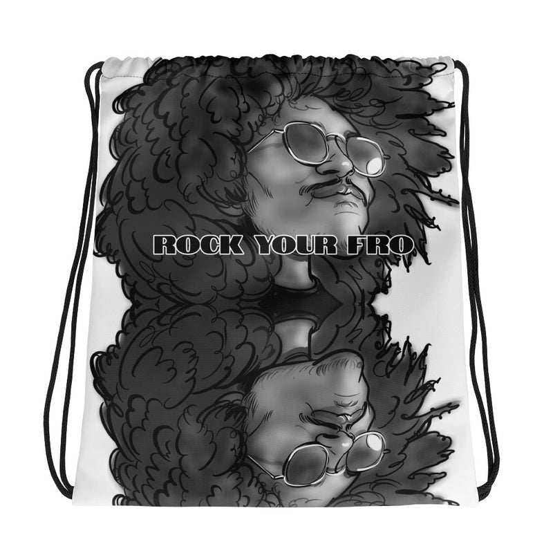 Rock Your Fro Drawstring bag