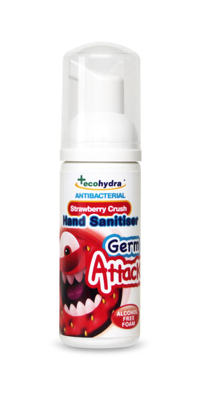 Children's alcohol free Hand Sanitiser 50ml strawberry fragrance