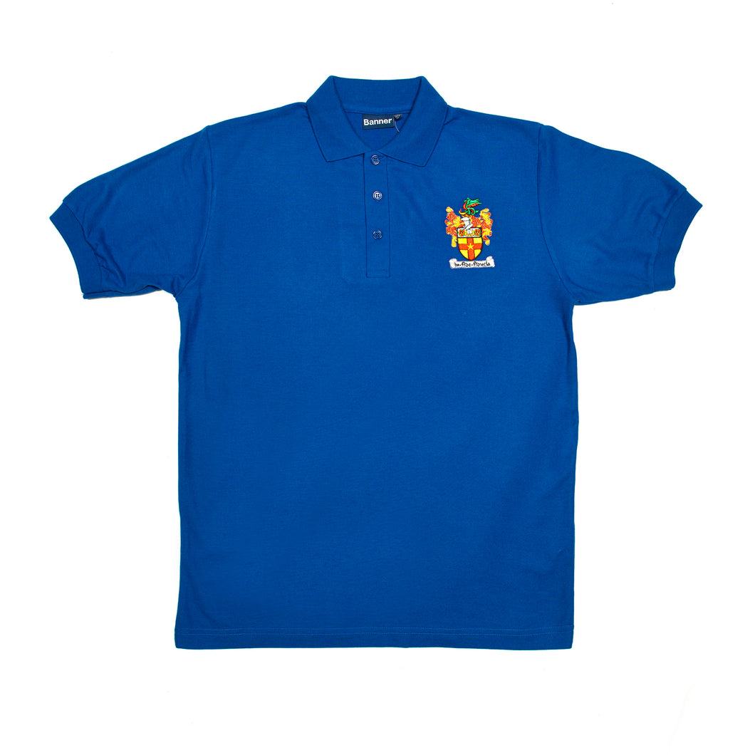 Crested Bentley polo (Royal)