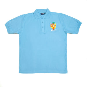 Crested Latham polo (Sky blue)
