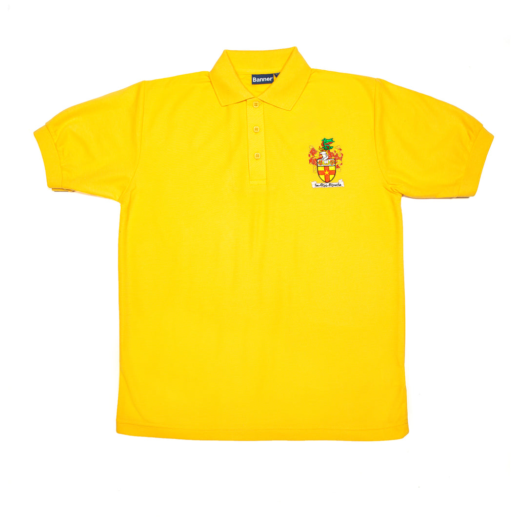 Crested Newton polo (Gold)