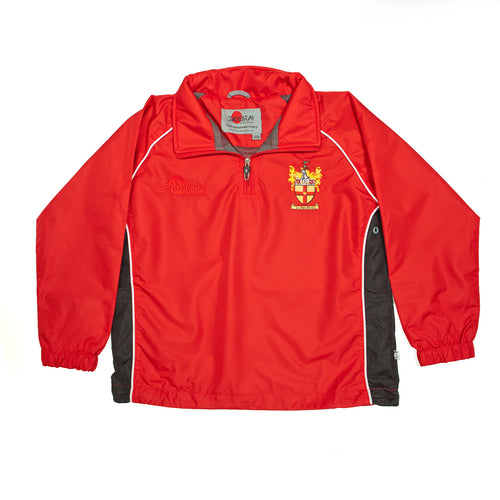 Crested tracksuit top