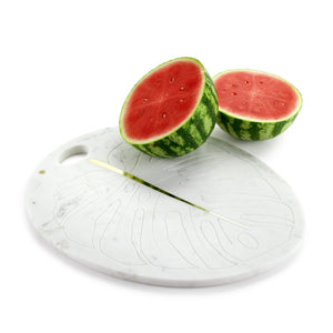 Panama - serving plate/cutting board in marble