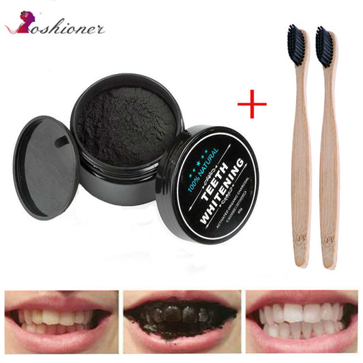 Naturally Activated Organic Teeth Whitening Charcoal Powder