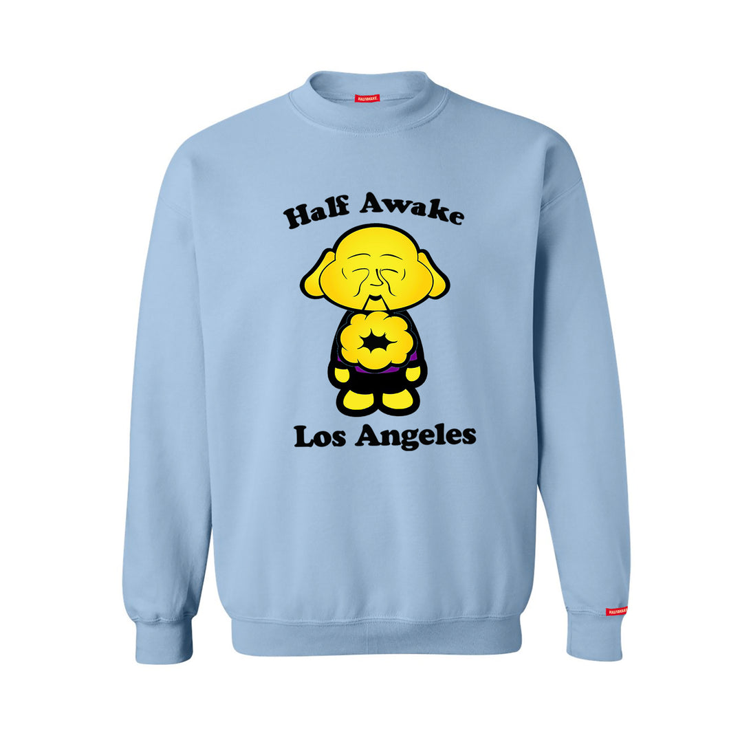 Buddha Crewneck Powder Blue