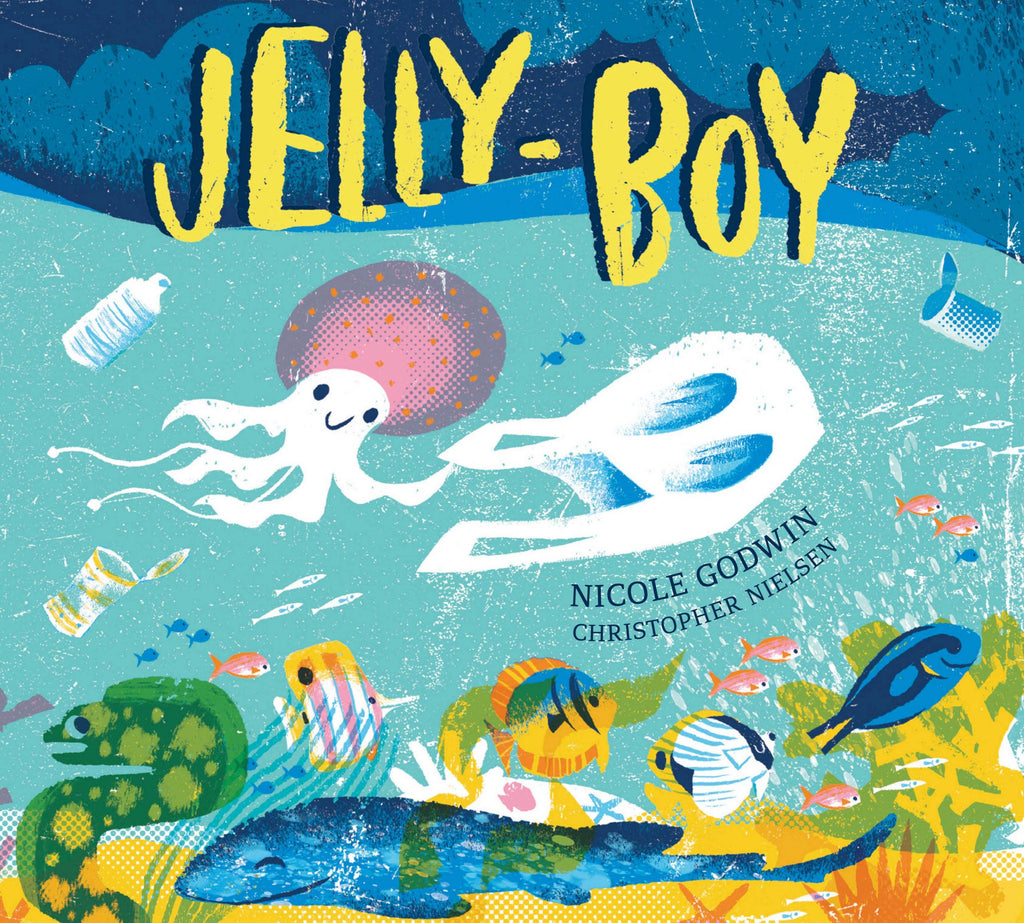 Nicole Godwin's 'JELLY BOY' Jellyfish falls in love with a plastic bag!