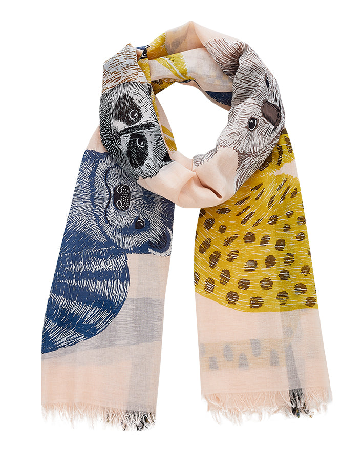INOUITOOSH French scarves various designs
