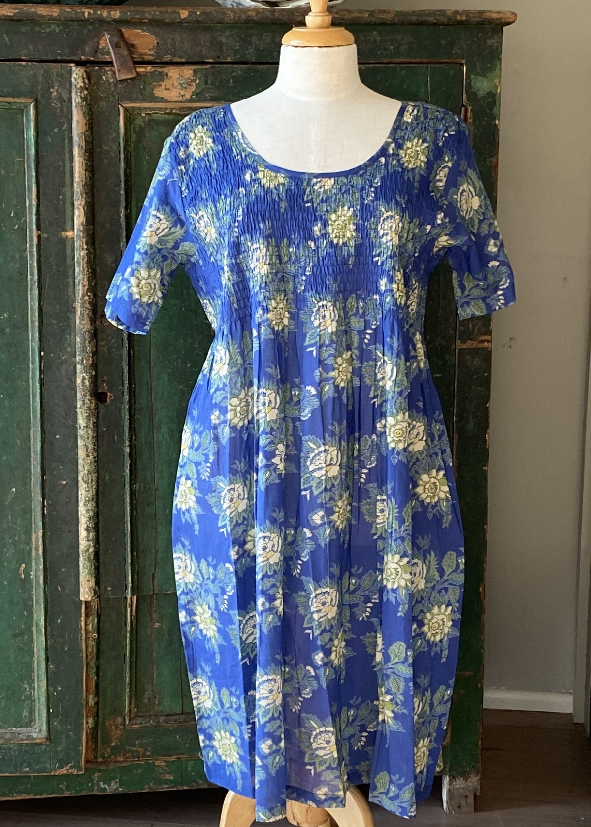 Arabella blue floral nightie